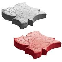 Тротуарная плитка «Кленовый лист»
