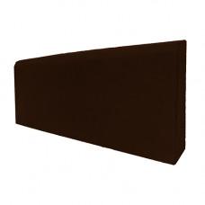 Бордюр тротуарный 500х200х30 (вибролитой) коричневый