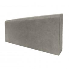 Бордюр тротуарный 500х200х30 (вибролитой) серый