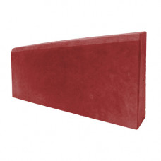 Бордюр тротуарный 500х200х30 (вибролитой) красный
