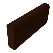 Бордюр садовый 500х200х60 (вибропресс) коричневый