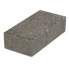 «Брусчатка» 200х100х80 (вибропресс) серый