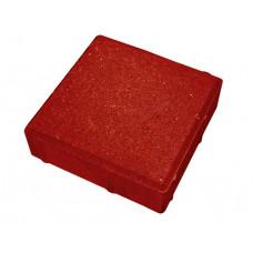 Тротуарная плитка «Гладкая» (500х500х70) красный