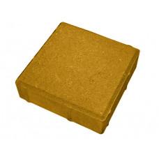Тротуарная плитка «Гладкая» (500х500х70) жёлтый